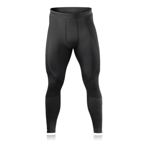 rehband runners knee itb tights black front