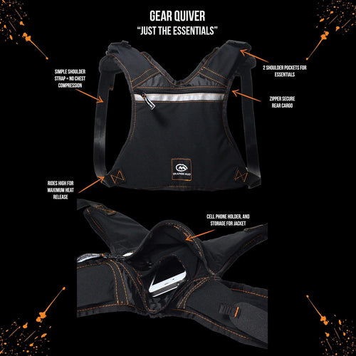 orange mud gear quiver black
