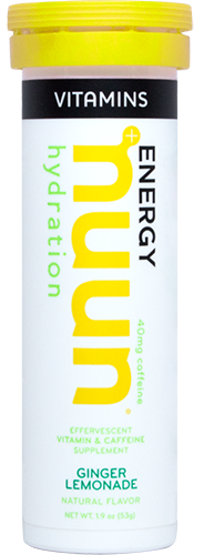 nuun vitamins ginger lemonade