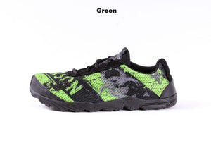 zombie racer performance trail shoe in green