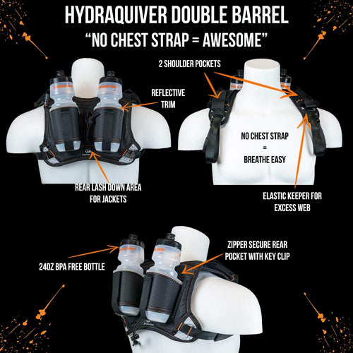 orange mud hydraquiver double barrel black