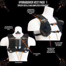 Load image into Gallery viewer, orange mud HydraQuiver Vest Pack 1