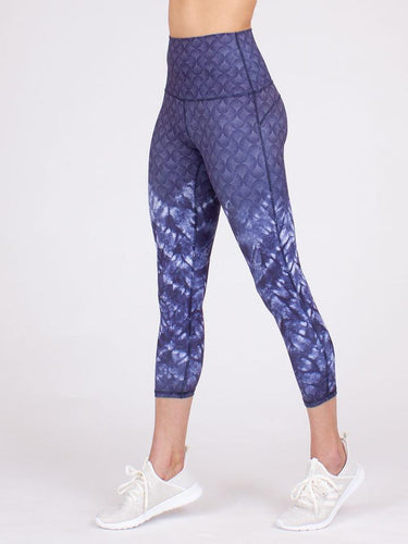 Anjali Elevation Indigo Capris Women's | Run Uncommon