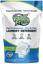 Load image into Gallery viewer, vapor fresh laundry pods back