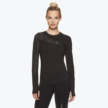Load image into Gallery viewer, Madison Women's Long Sleeve Mesh Top front