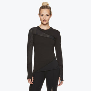 Madison Women's Long Sleeve Mesh Top front