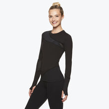 Load image into Gallery viewer, Madison Women's Long Sleeve Mesh Top side