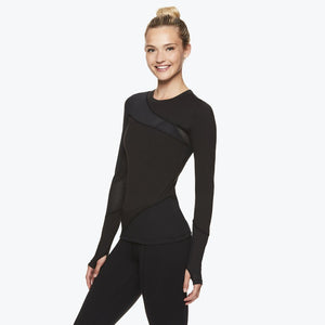 Madison Women's Long Sleeve Mesh Top side