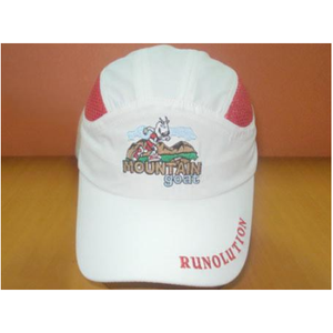 runolution mountain goat performance running hat