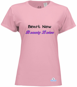 women's running shirt with graphic