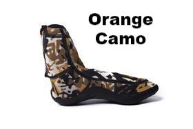 sockwa minimalist running shoe g hi orange camo
