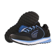 Load image into Gallery viewer, spira women's running shoe black blue