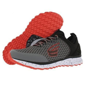 spira phoenix men's running shoe charcoal / black / red