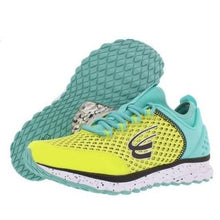 Load image into Gallery viewer, spira phoenix women's running shoe yellow teal black