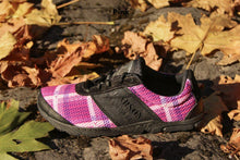 Load image into Gallery viewer, carson footwear tartan racer in pink
