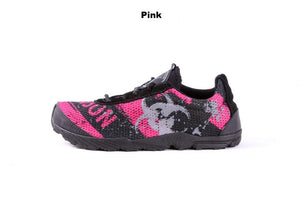 zombie racer performance trail shoe in pink