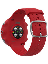 Load image into Gallery viewer, polar vantage m gps running watch red back
