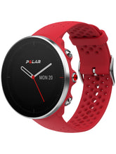 Load image into Gallery viewer, polar vantage m gps running watch red front