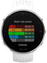 Load image into Gallery viewer, polar vantage m white front heart rate zones