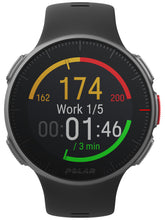Load image into Gallery viewer, polar vantage v front black heart rate