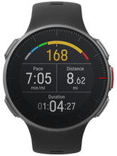 Load image into Gallery viewer, polar vantage v front black alternate heart rate