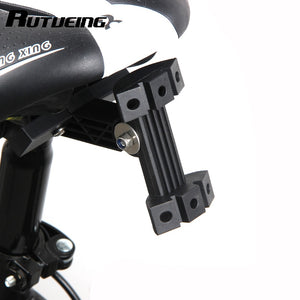 bicycle bottle cage saddle attachment