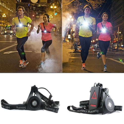 Running LED Chest LIght