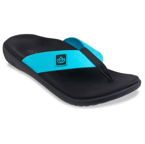 spenco recovery sandal pure bluebird