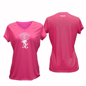 ruseen running women's v-neck performance tee