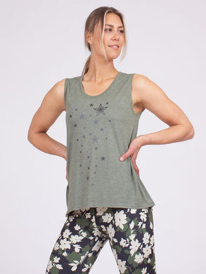 Anjali Star Rain Tank Women's | Run Uncommon