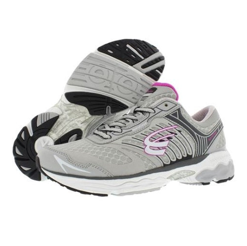spira scorpius II women's running shoe gray / charcoal / fuschia