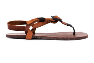 shamma sandals running all browns profile view