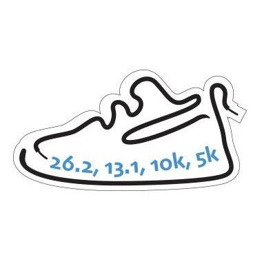 Race miles decal from Runolution