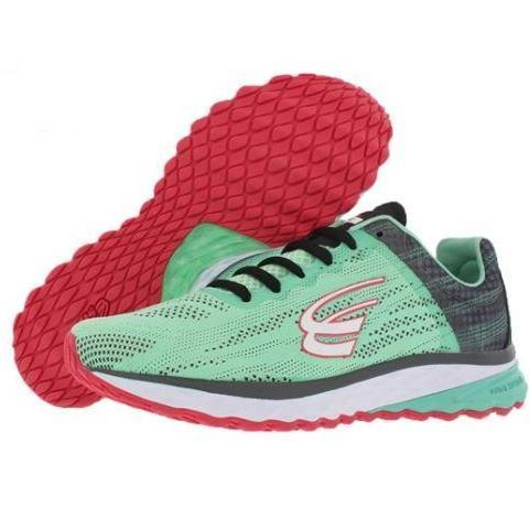 spira vento running shoe mint/charcoal/coal initial view