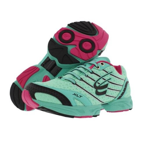 spira stinger women's running shoe bermuda / fuchsia / black