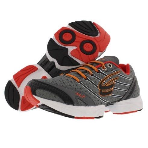 spira stinger xlt 2 women's running shoe charcoal / orange / white