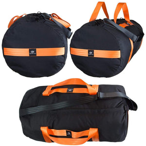 orange mud beast gear hauler black with orange straps