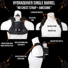 Load image into Gallery viewer, orange mud hydraquiver single barrel black