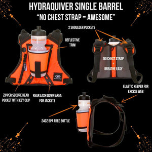 orange mud hydraquiver single barrel orange