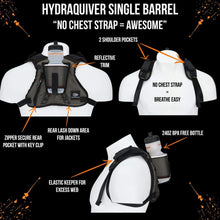 Load image into Gallery viewer, orange mud hydraquiver single barrel white