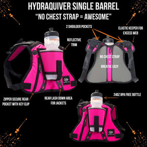 orange mud hydraquiver single barrel pink