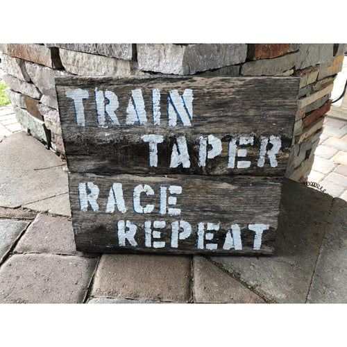 train taper race repeat reclaimed wood stencil art by run uncommon