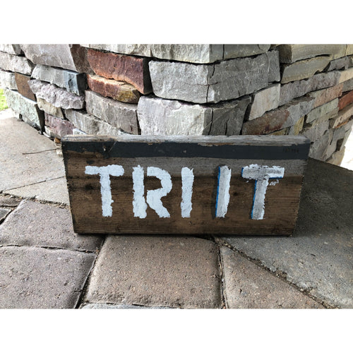 tri it reclaimed wood stencil art by run uncommon