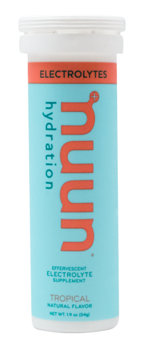 running hydration replenishment drink from nuun