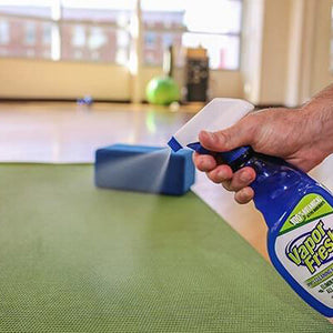 Vapor fresh cleaning a floor