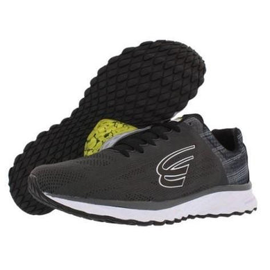 spira vento men's running shoe charcoal / black / white