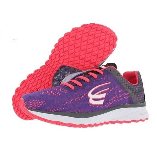 spira shoes womens vento running purple coral black