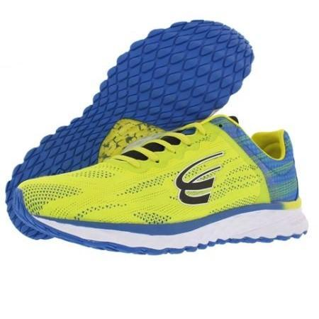 spira vento men's running shoe yellow / blue / black