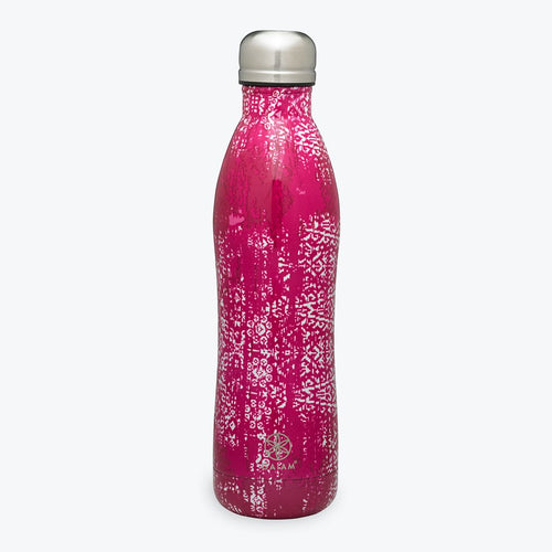 gaiam stainless steel 17 oz water bottle vintage rose