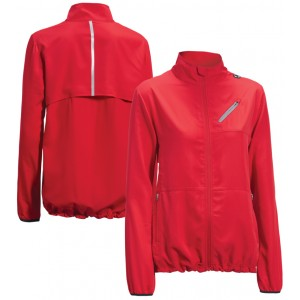 expert women's run away jacket red